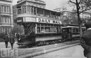 double decker london tram car1 300x190 - Whisky in History -- Circa 1900