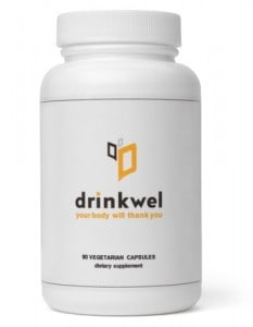 drinkwell1 233x300 - Alcohol Alchemy: A Hangover Pill from Drinkwel