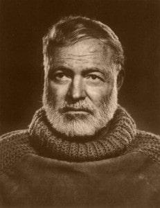 Ernest Hemingway 11 231x300 - Words To Imbibe In: Ernest Hemingway