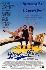 BlueInTheFace 195x300 - Films To Imbibe In: Blue In The Face