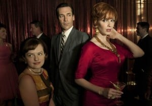 MadMen peggy don joan RS 300x210 - Things We Miss About the Mad Men Era