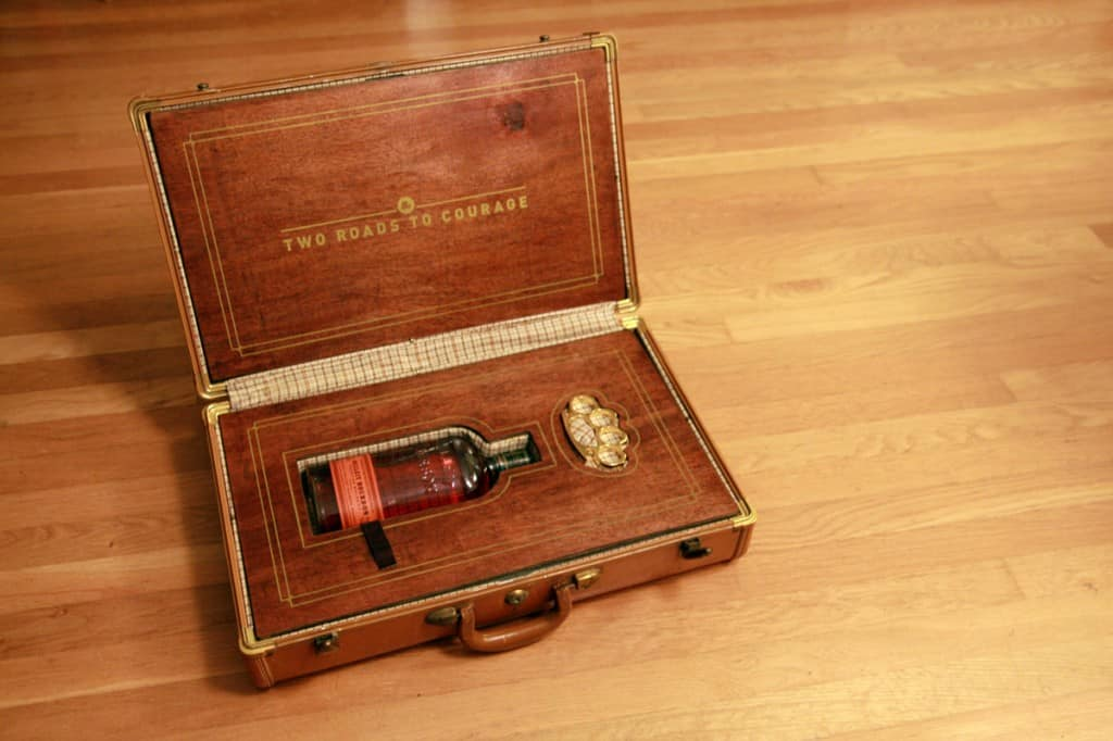 Bourbon Suitcase 1024x682 - Two Roads to Courage