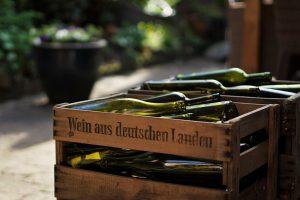 Empty wine bottels 300x200 - The Gentleman's Cellar: Keeping the Cellar Stocked
