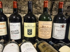 French wine Bordeaux 300x224 - French Wine and Cuban Cigars