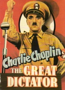 TheGreatDictator1940 216x300 - Films To Imbibe In: My Top 10 Films