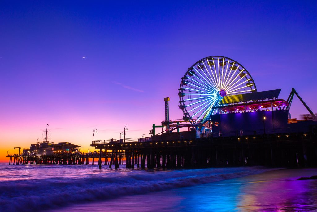 Santa Monica Pier 1024x683 - Woo Her with a Romantic Los Angeles Getaway