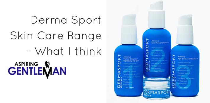 Derma Sport Skin Care Range – What I think