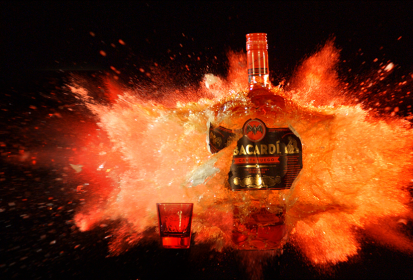 BACARDI Carta Fuego Proves That Everything is Awesome in Slo-Mo