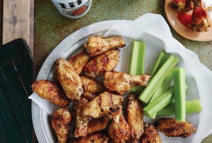 A Southern Gentleman's Kitchen:  Salt + Pepper Chicken Wings