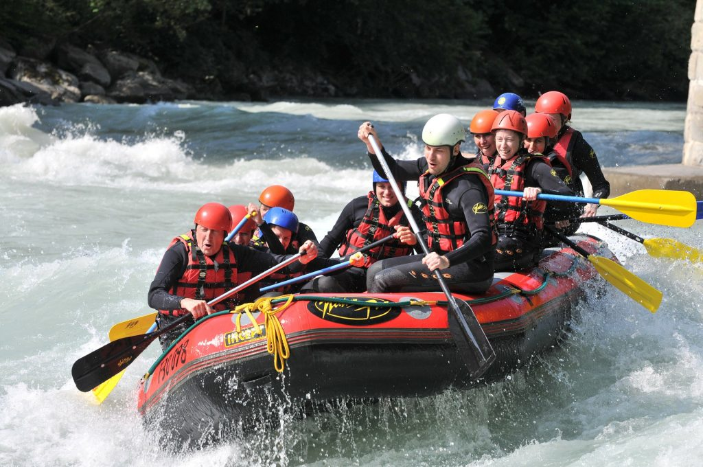 White Water Rafting 1024x680 - Extreme Sport Stag Weekends