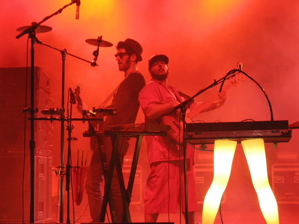 1280px Chromeo performing at Bonnaroo Music and Arts Festival by divertingbailey 1024x768 - Mind-Blowing Guitars as Unique as Your Musical Talent