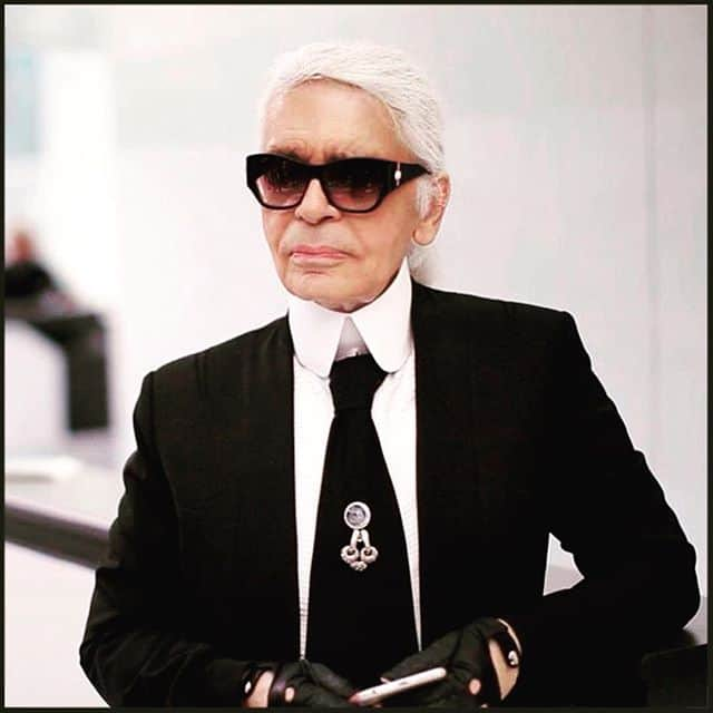 bereniceofficiel Instagram Karl Lagerfeld - Fashion's Most Important Men