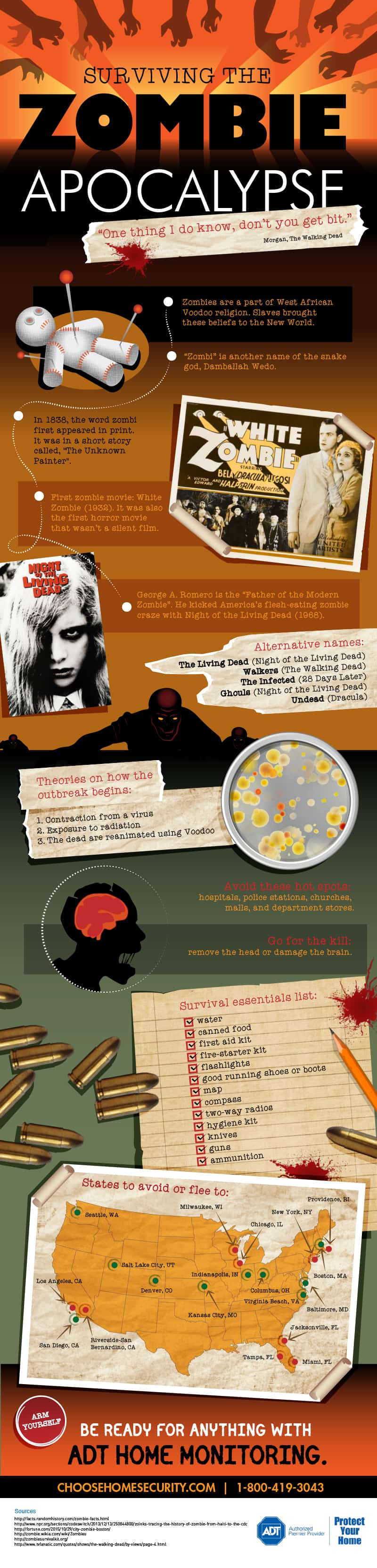 zombieinfographic 1 - The Zombie Craze is Here to Stay