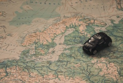 Travel The World With Just A Car And A Suitcase
