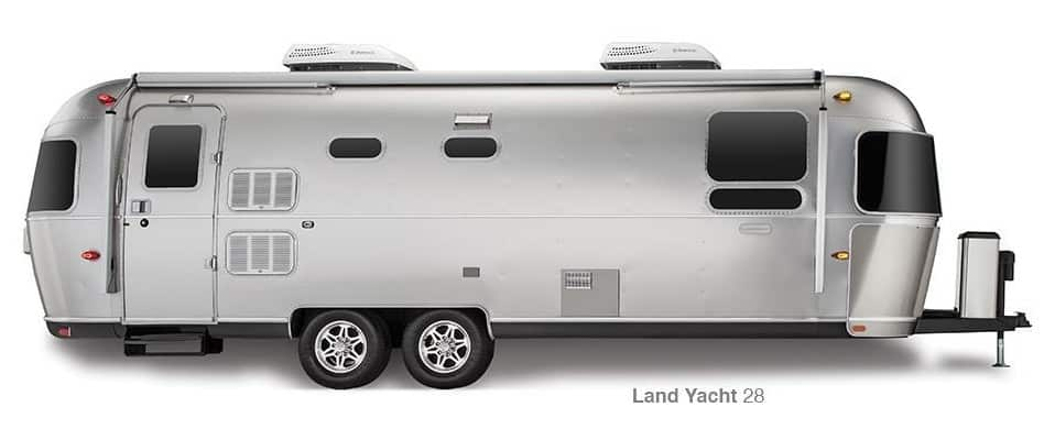 Airstream Land Yacht - A look inside the world's best luxury caravans