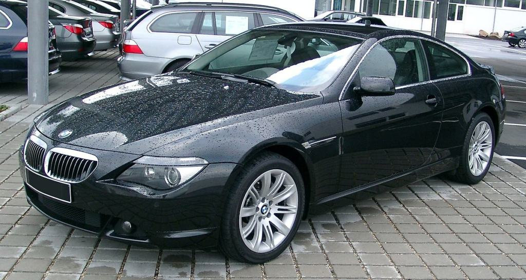 1200px BMW E63 front 20071125 1024x546 - These Stylish Cars Will Automatically Improve Your Look