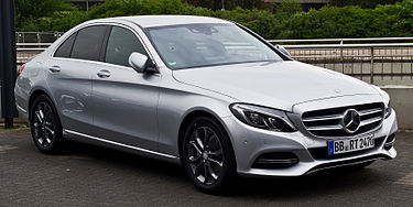 Mercedes Benz C 200 Avantgarde W 205 – Frontansicht 26. April 2014 Düsseldorf - These Stylish Cars Will Automatically Improve Your Look