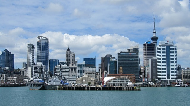 auckland 927242 640 - Top Three Cities to Live and Work In