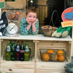 Win Dad of the Year With This DIY Farm Stand for Your Kids