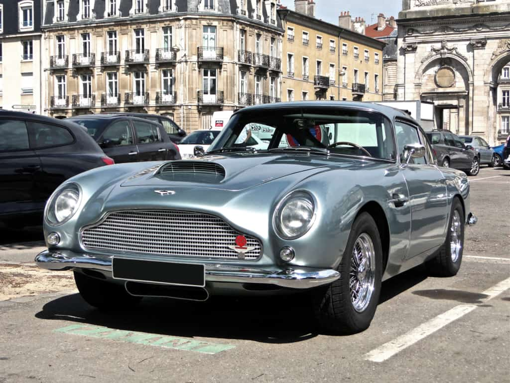 Aston Martin DB5 1024x768 - Timeless classics: The coolest cars of all time
