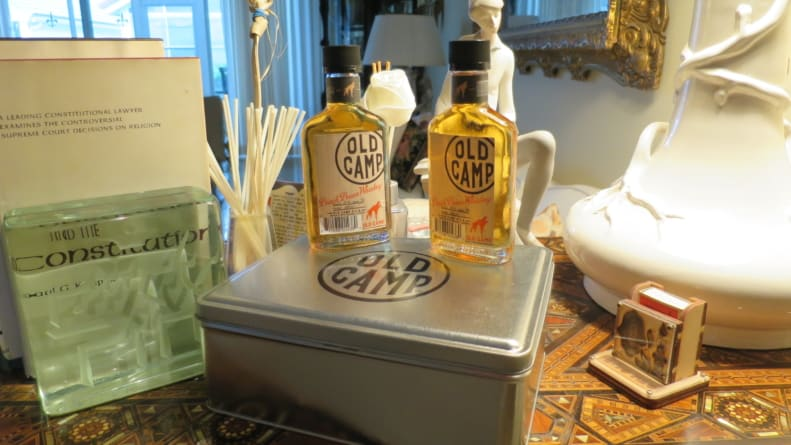 Valentines Day Whiskey Review: Old Camp Peach Pecan Flavored Whiskey