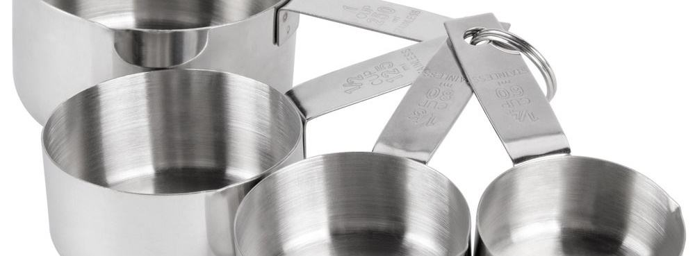 16 measuring cups - It's a Man's World: 17 Essential Kitchen Items for Your Bachelor Pad