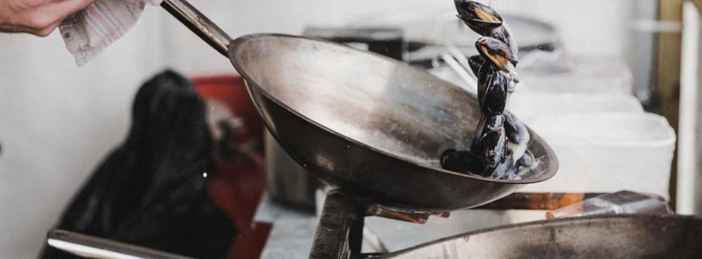 2 pans - It's a Man's World: 17 Essential Kitchen Items for Your Bachelor Pad