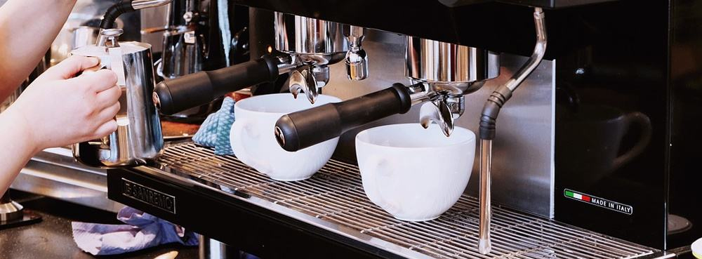 4 coffee machine - It's a Man's World: 17 Essential Kitchen Items for Your Bachelor Pad