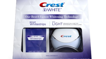 Teeth Whitening with Crest Whitestrips With Light