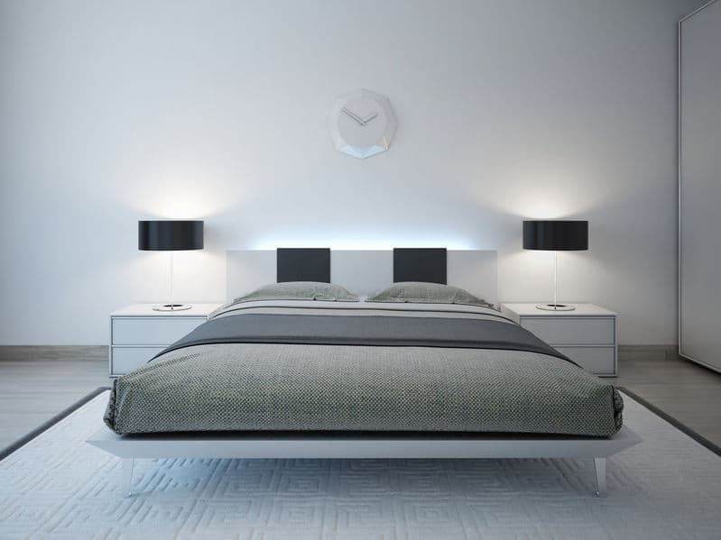 1 minimal bedroom gray - Add an oomph of style to your home with bold statement pieces