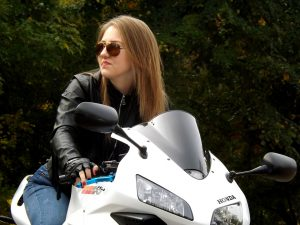 girl 1001864 1280 300x225 - Wearing the Gear: Safety Smarts for Modern Motorcycle Riders
