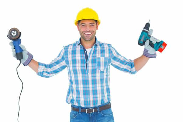 1 man with tools - DIY vs. Tradesman Hire: A few easy home repairs every man should master
