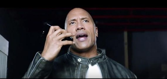 The ROck - Siri Helps You Smell What The Rock's Cooking