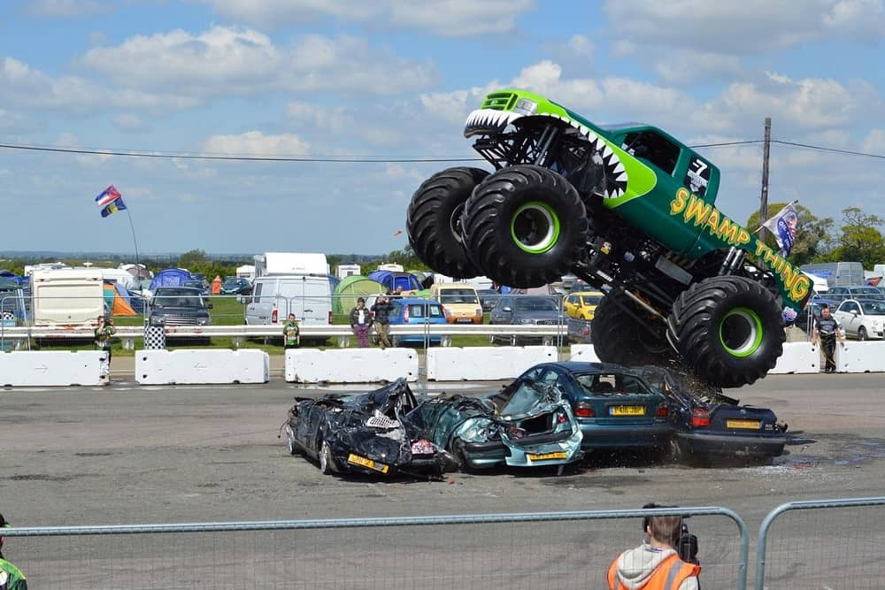 2 monster truck - Eight Birthday Ideas for the Man Who Has Everything