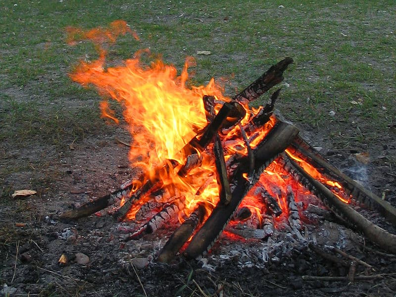 AG fire - The 10 Best Things Guys Can Do Outdoors