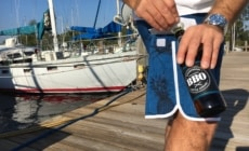 Bring Your Own Boardshorts with Patent Pending The BBO Boardshort Bottle Opener