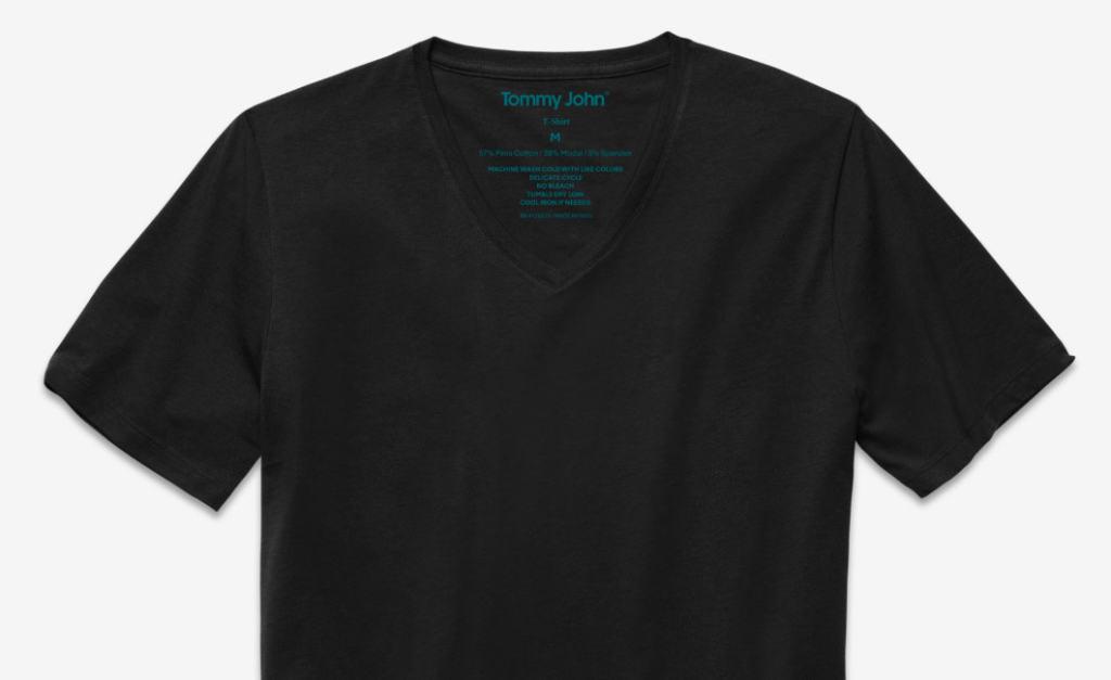 Black v neck 1 1024x627 - Tommy John: Because Everything You Wear Should Be Classy