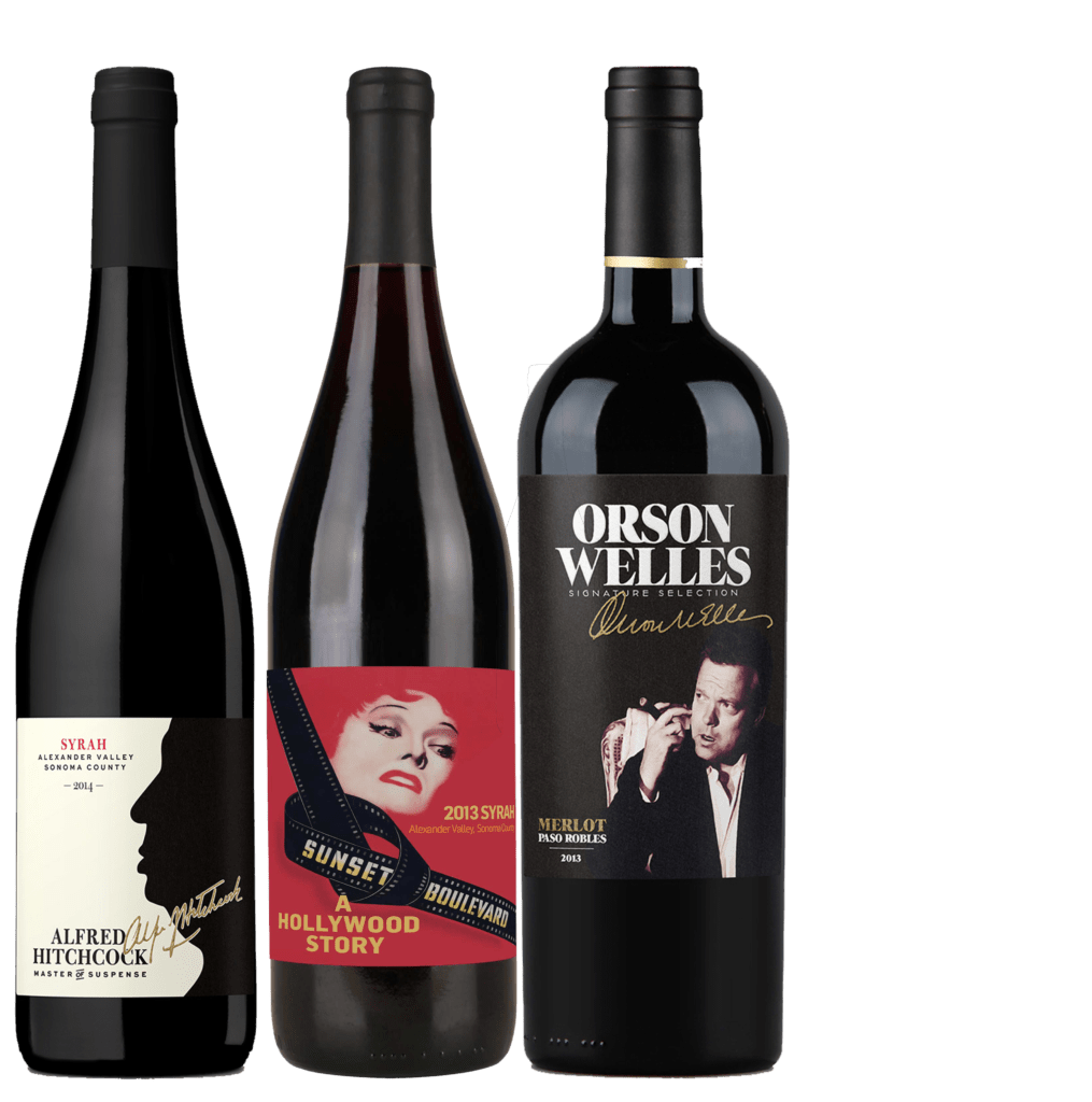 Classic Movie Wine 2 1015x1024 - 30+ Unique Gifts For Men: 2017 Holiday Gift Guide