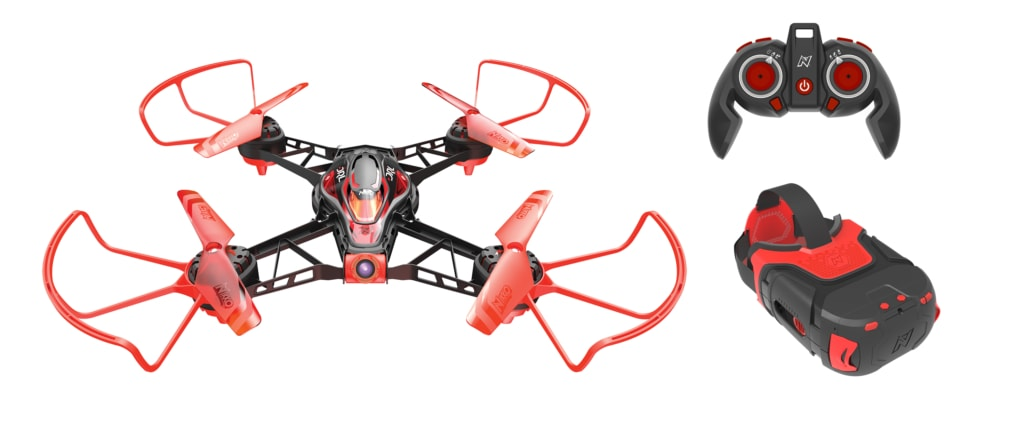 DRL Nikko Air Drone 1024x421 - 30+ Unique Gifts For Men: 2017 Holiday Gift Guide