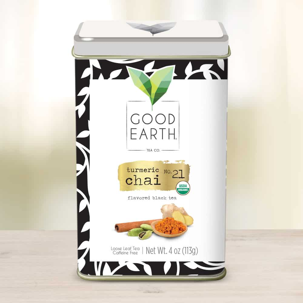 Good Earth Turmeric Chai - 2017 Holiday Gifts For The Special Woman In Your Life