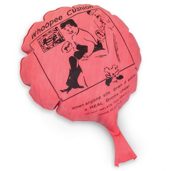 Whoopee Cushion - Retro Christmas: old-school festive fun on a budget