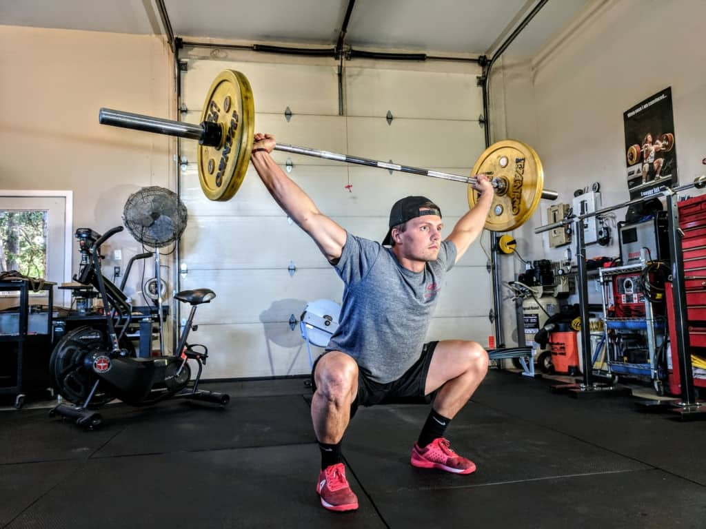 overhead press 1024x768 - The Basic Barbell Lifts