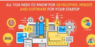 All you need to know for developing a website and software for your startup