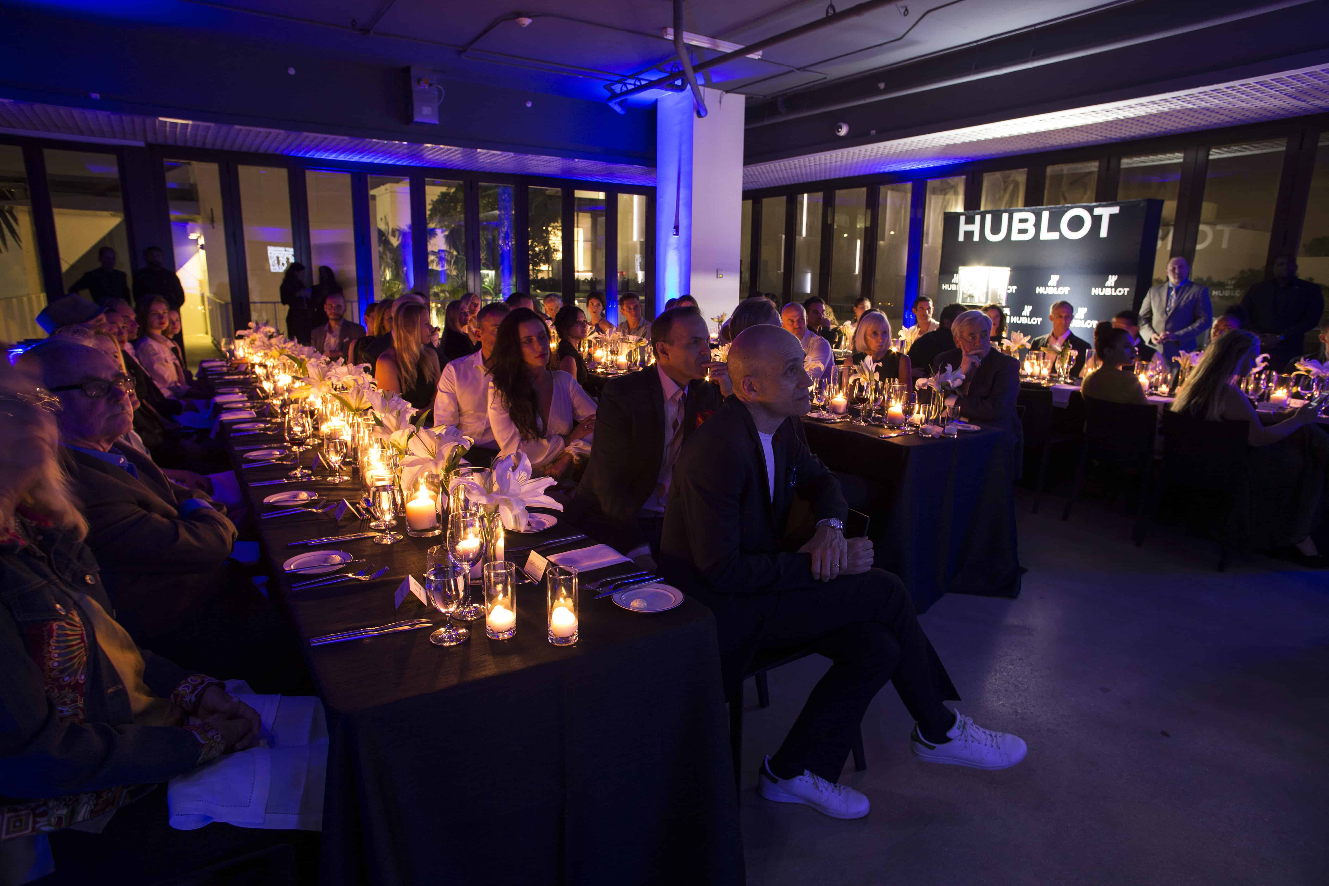 Dinner Atmosphere - What happens when Hublot and Best Buddies team up? Just watch!