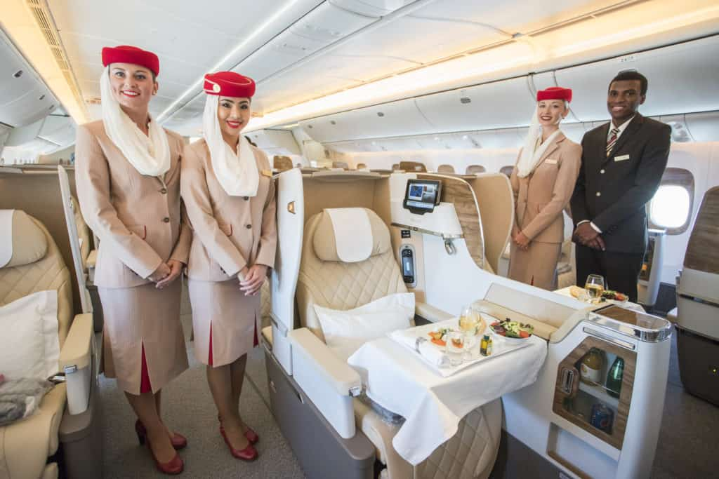 Emirates flight 1024x683 - Emirates brings its passion for tennis to Miami