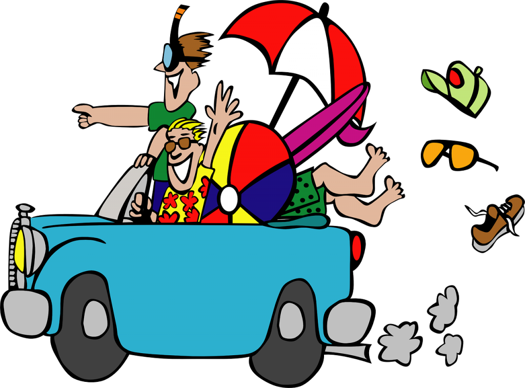 Road Trip 1024x757 - How to Entertain Yourself and Your Children during a Long Road Trip