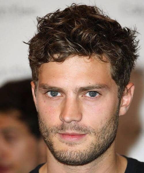 The Jamie Dornan Short Curly Hairstyle - Top 10 Popular Men Hairstyles in 2019