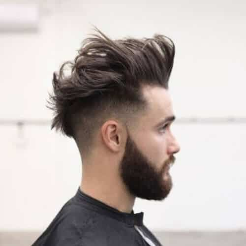 The Modern Shaggy Pompadour Cut - Top 10 Popular Men Hairstyles in 2019