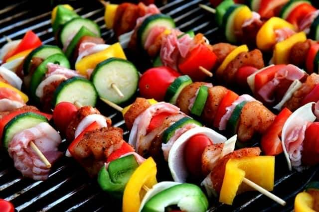 shish kebab meat skewer vegetable skewer meat products 53148 - Traditional Dishes in Egypt: Local Food You'll Love