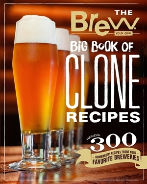 Brew Your Own Clone Recipes - Brew Your Own Big Book of Clone Recipes Giveaway